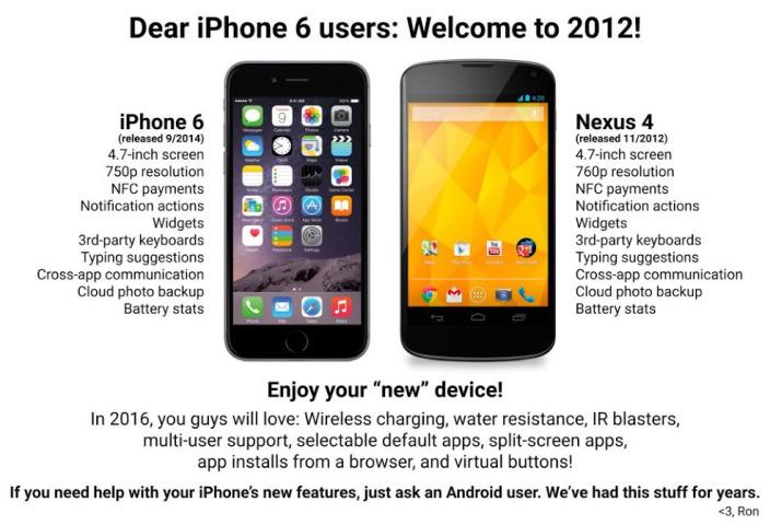 iphone6 vs nexus