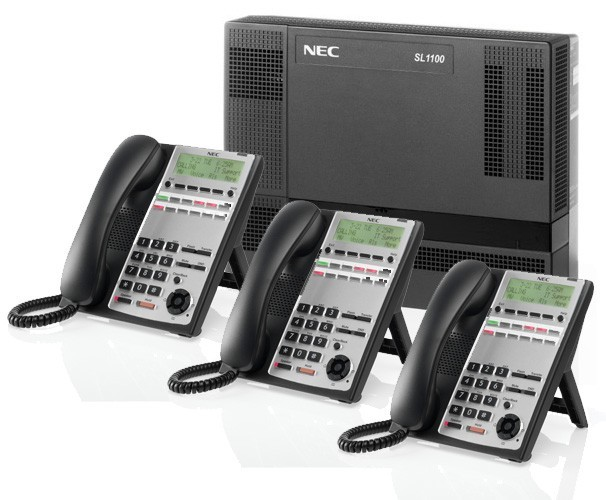 Nec Sl1000 Central Telefonica Ip Pbx Pabx Inteligente Y